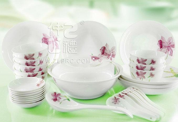 32头美人娇中式餐具,ZLXYL19
