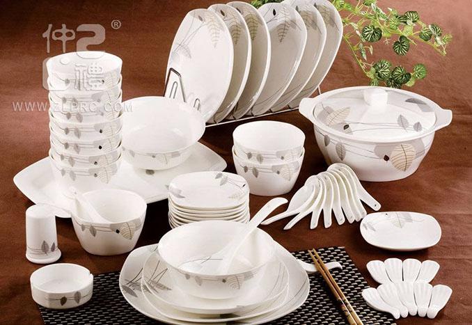 56头秋日物语-银方形餐具,ZLDL05