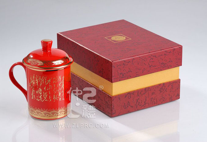 中国红诗词单杯,ZLJD02