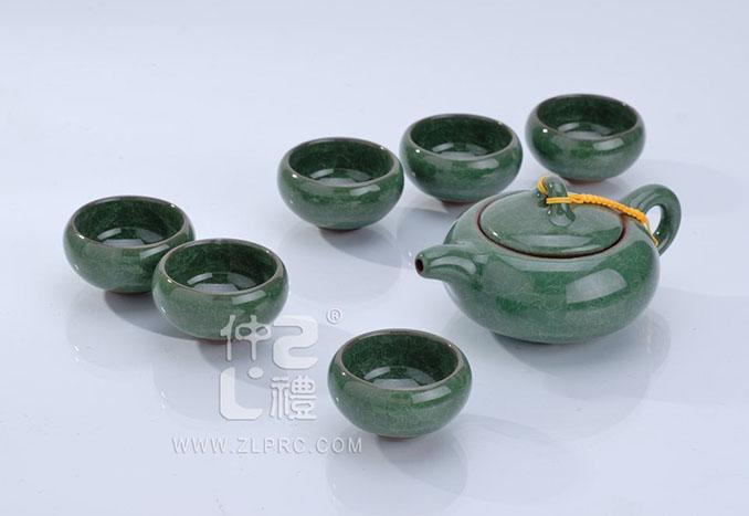 冰裂茶具单色,ZLJY05