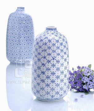 14寸文瓶米花,ZLSJ02