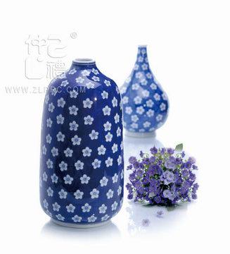 10寸天球瓶兰花,ZLSJ04