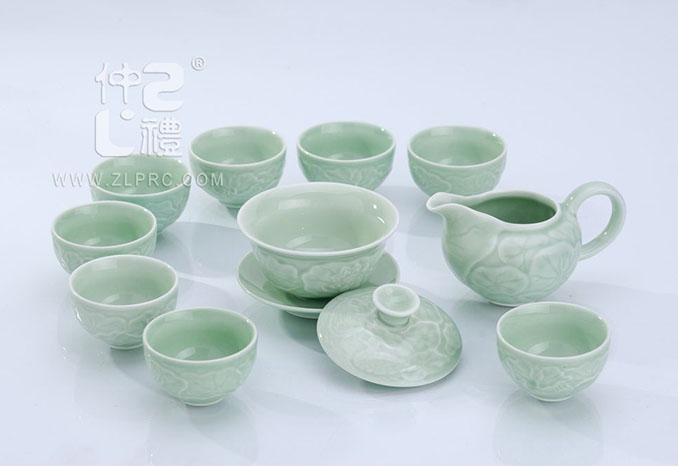 养生活瓷浅绿,ZLJY02