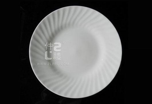 10.5寸浪纹平盘,ZL0701 105001