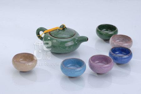 冰裂茶具6色