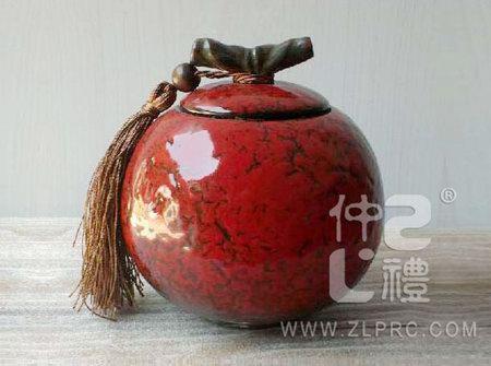 窑变中号大红